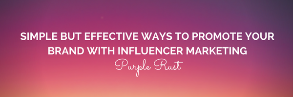 influencer-marketing- purple rust